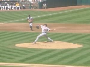 Justin Verlander pitching