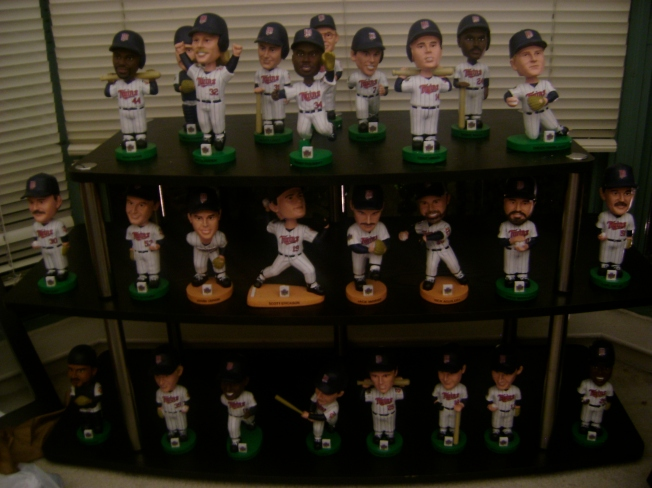 1991 Minnesota Twins in Bobblehead form